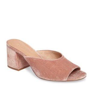 Madewell Velvet Mule Sandals